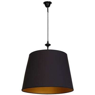 LUSTER GLAMOUR ELEGANTE 1 light BLACK/GOLD
