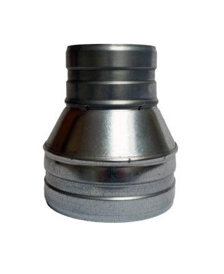 Zníženie 150/80 hadice spiro kapota ventilátor