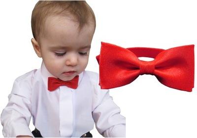 Muszka dziecięca mucha od 0 do 2 lat krawat szelki