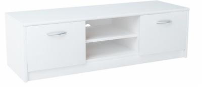Шкаф столик RTV 2DC 120см белая комод, книжный шкаф