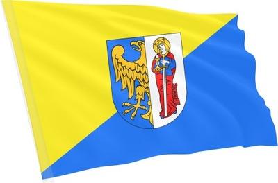 Flaga Ruda Śląska Rudy Śląskiej herb 100x60cm