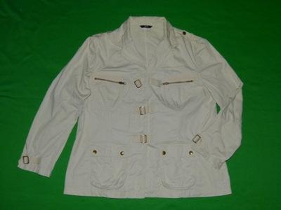 0L* MARKS SPENCER kurtka bawełna ecru / 14 - 42