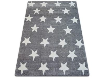 Dywany łuszczów Sketch 140x190 Gwiazdki Ruta Pasy Kúpsito