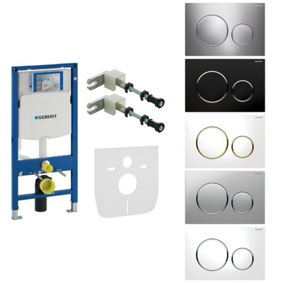 Montážny rám pre závesné WC - GEBERIT DUOFIX toaletná podložka podložka SIGMA20
