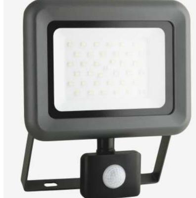 Záhradné svietidlo závesné - LED svetlomet smd + PIR IP 65 10W Heli S Anlux