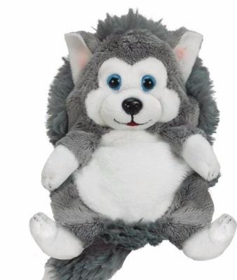 Hide Away Pets Chowajace Sie Zwierzatka Husky 35cm 6746522259 Oficjalne Archiwum Allegro