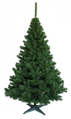Vianočné stromčeky - UMELÝ STROM, SMREK ZELENÁ, 150 CM STÁNKU