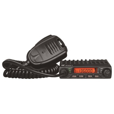 CRT SPACE V mikro radiotelefon VHF 136-174MHz 17W