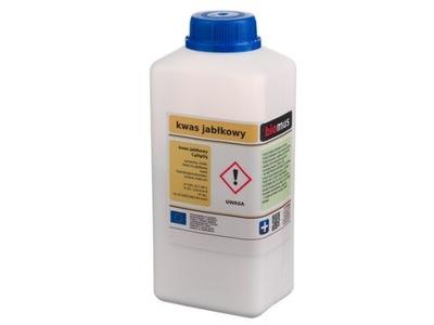KWAS JABŁKOWY Malic acid czysty 1 kg BIOMUS