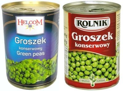 зеленый Горошек консервированный 400 г