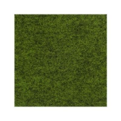 войлок зеленый меланж 4 мм impregn. 603g/м2 50x100 см