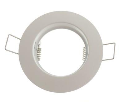 Svietidlá stropné a stenové svietidlá - OPRAWKA DO PODBITKI DACH BIAŁA BIAŁY ODLEW LED