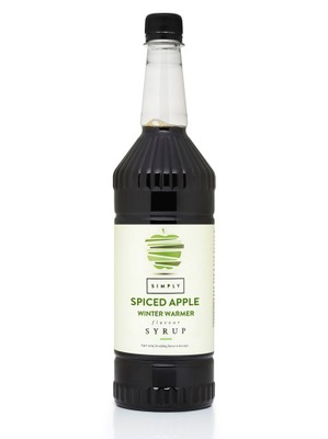 Simply сироп Приправленным Apple Winter Warmer 1л