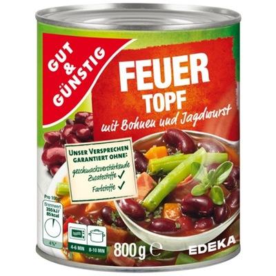 Пряный фасолевый суп с германии 800г