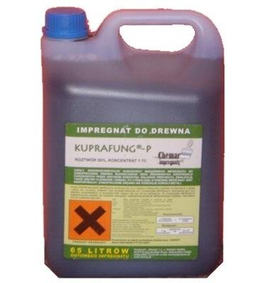 KUPRAFUNG-P impregnácia impregnácia pre drevo 5 kg