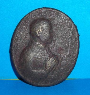 Zabytkowy bardzo stary i duży medalik - XVIII wiek