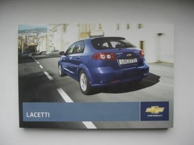 Chevrolet Lacetti Polska Instrukcja Obslugi Niska Cena Na Allegro Pl