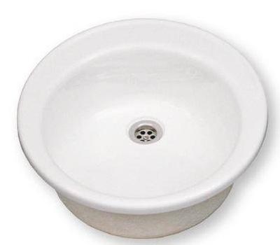 UMÝVADLO BIELE OKRÚHLE priemer 48 cm umývadlo