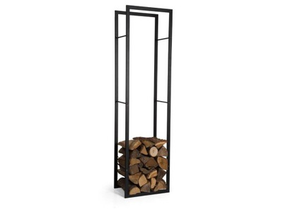 Stojan na drevo - Stojak na drewno kominkowe regał do salonu 100cm