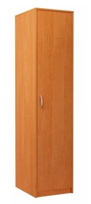 шкаф jednodrzwiowa шкаф стойка стеллаж 1D2P Ольха