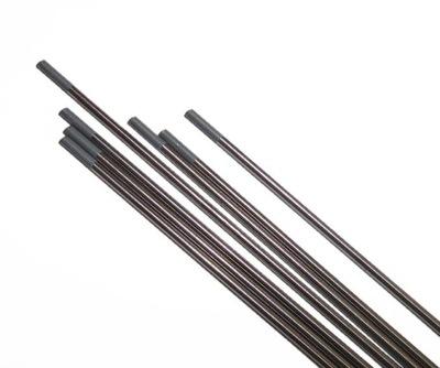 volfrámové ELEKTRÓDY drôt TIG SIVÁ WC20 2,4 x175mm