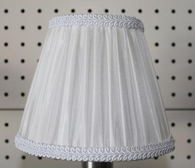 volánikmi Tienidlo lampy pre žiarovka biela E14