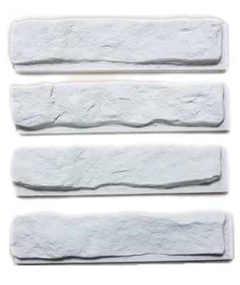 камень Декоративный Белый плитки Гипсовые С ФУГА 3D