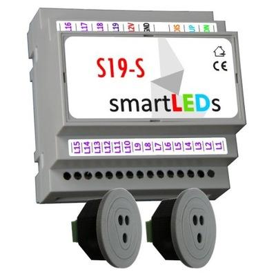 smartLEDs S19-S Ovládač pre schodisko LED + 2CZUJNIKI