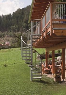 Лестница Вьющиеся Внешние Рондо для 3M . Ø120