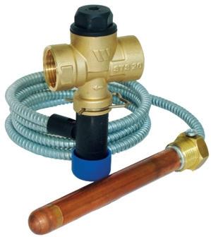 Termálne vypúšťací ventil WATTS STS 20.S 85°C