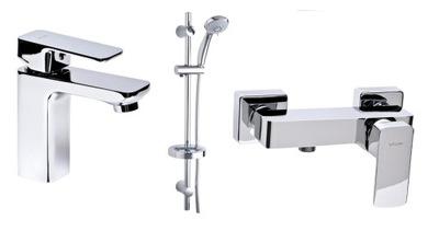 Vodovodné batérie súprava -  VALVEX LOFT nastaviť sprchovú vaničku sprej chr