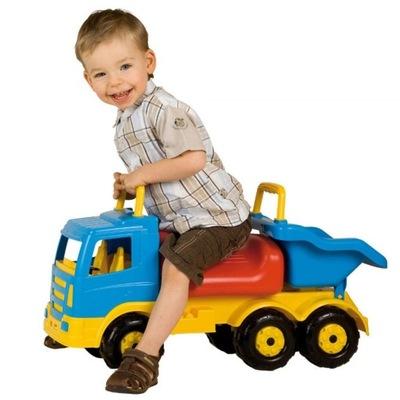 KULIKOV Truck Jeździk Tlačné Veľké dump Truck XXL