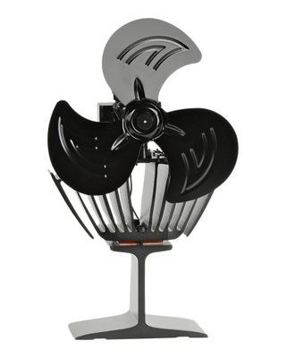 Ventilátor na krb jednotka tepla Voyto