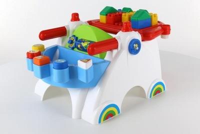Kulikov interaktívne tabuľky pre hry s dieťaťom, sídlo klock