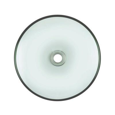 Priehľadné sklenené umývadlo fi 38