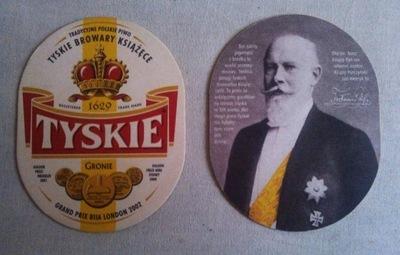 стенд пиво - TYSKIE