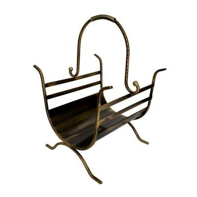 Basket Stand drevo- -Príslušenstvo ohnisko TREE