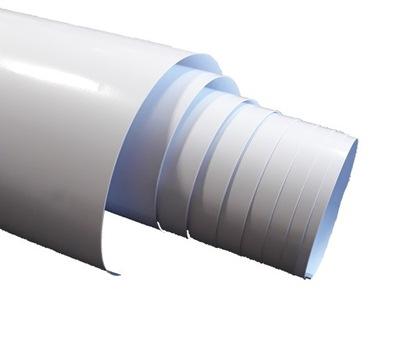 Шпон Мебель белая блеск 105x50 пленка