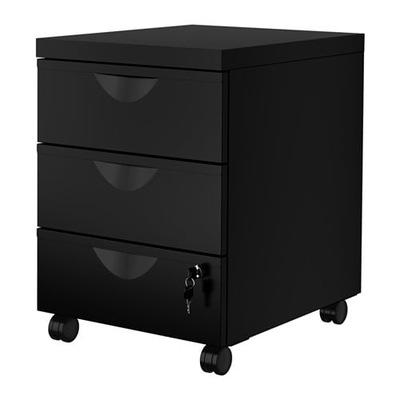 IKEA bielizníka 3 zásuvky ERIC black kuriér