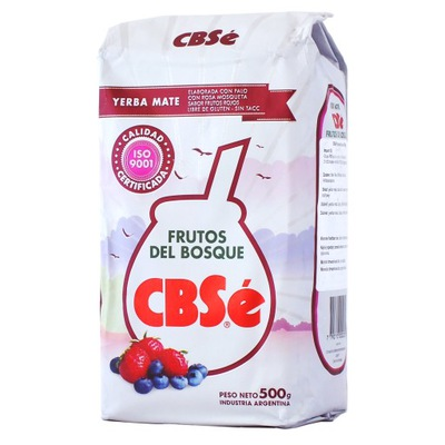 Yerba Mate Cbse Frutos del Bosque Ягоды 500 г
