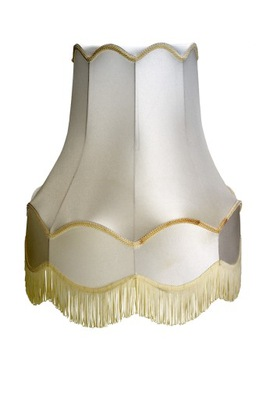 Tienidlo lampy Tieni Retro Bell Ecru/Ecru 27x46x46 cm