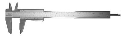 Analógový VIS Vernier strmeň 150 mm 0,02