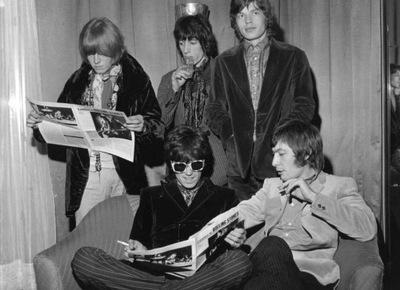 The Rolling Stones Милан 1967 ??? 24x30 см