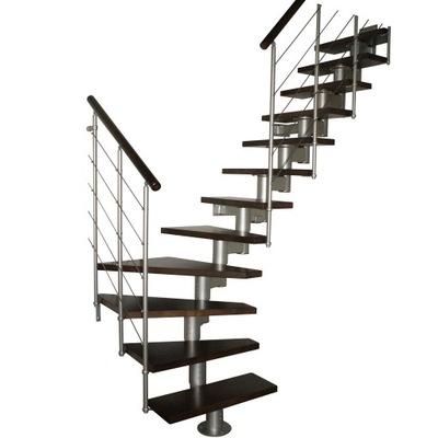 Лестница КОРА модель микс 05 Л -90 15 элементов