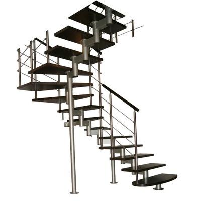 Лестница КОРА-микс 200 vertical U-180 14 элементов