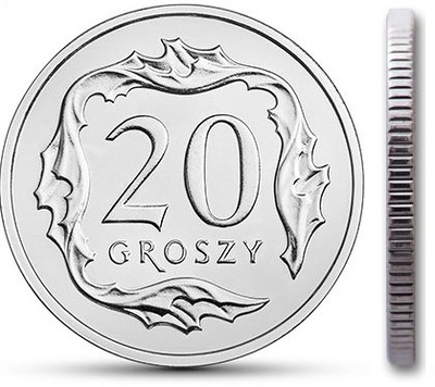 20 gr groszy 2003 mennicza mennicze z woreczka