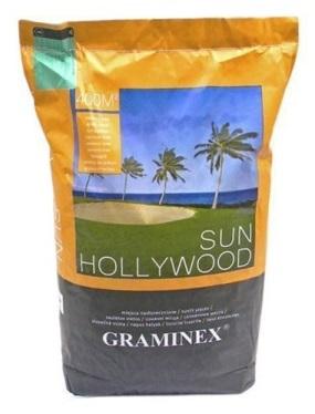 Tráva Graminex Hollywood Slnko Oblasti Suché 10 KG
