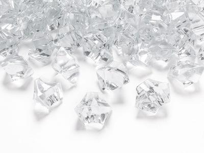 Kryształowy Lód dekoracyjny Bezbarwny - 50szt