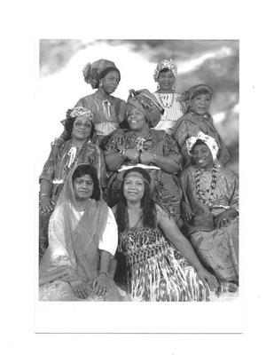 Открытка - Организация Женщин Surinamskich ...