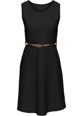 830dc7568e Bonprix Sukienka z dżerseju z koronką rozm 44 46 7727278564 - Allegro.pl